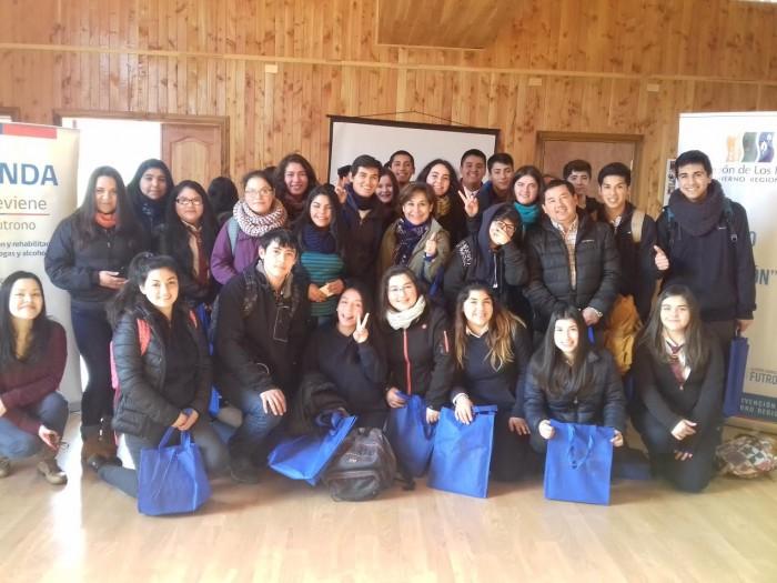 SENDA Previene Futrono celebró Día de la Juventud incentivando la prevención del consumo de sustancias