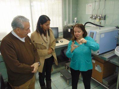 Directora Regional visita las dependencias del Servicio Médico Legal