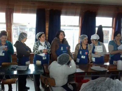 """En sector Irene Daiber se realizan talleres de Repostería y Banquetería enmarcados en el Proyecto Municipal """"La Unión por La Prevención"""""""