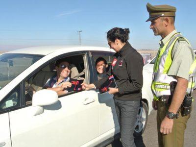 Más de 1.400 controles preventivos a conductores se realizaron por la fiesta de La Tirana