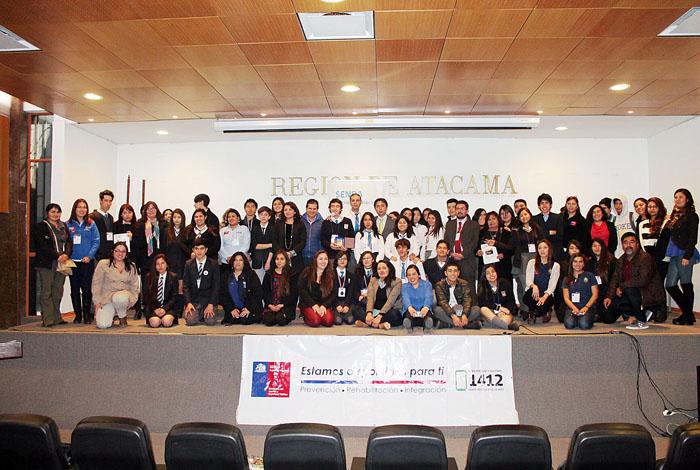 Más de 100 estudiantes participaron de los debates preventivos de Senda