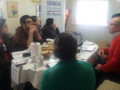 SENDA Previene Puerto Montt realiza taller en Liceo Andrés Bello