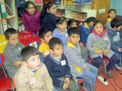 SENDA Previene de Nueva Imperial  realiza charla a preescolares de Escuela Municipal República