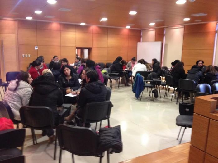 SENDA Previene Valdivia realizó taller de habilidades preventivas parentales a educadoras de la red SENAME