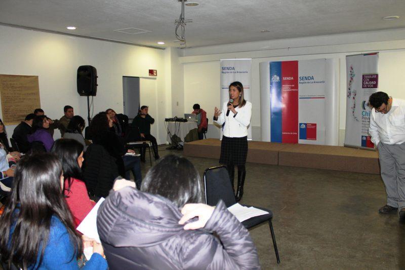 SENDA Araucanía realiza taller de habilidades preventivas parentales