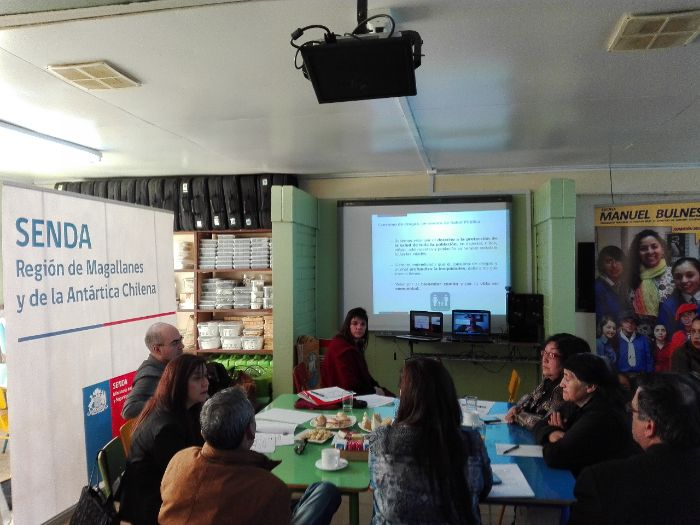 COSOC de Senda sesiona en Escuela Manuel Bulnes