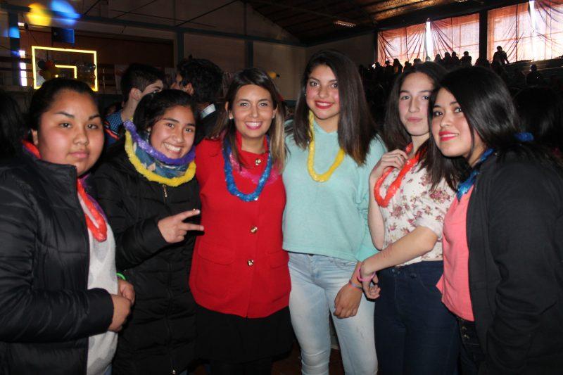 """SENDA lanza campaña regional """"Este 18 Cuida Tus Límites"""" con fiesta cero alcohol  en Carahue"""
