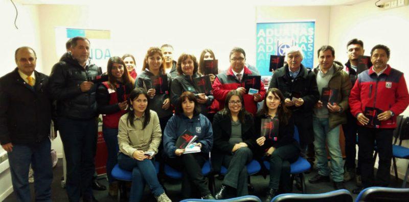 Trabajadores de la Aduana en San Antonio se informaron gracias a SENDA