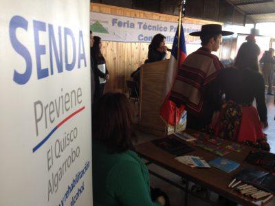 La prevención fue la invitada de honor en feria realizada en establecimiento educacional de EL Quisco