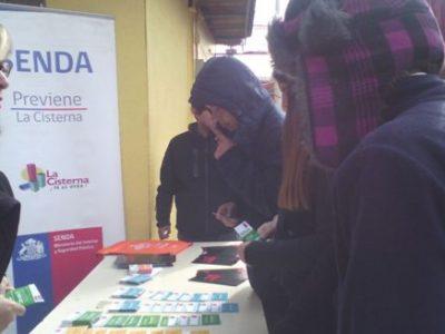 SENDA Previene La Cisterna suma colegios a recreos preventivos