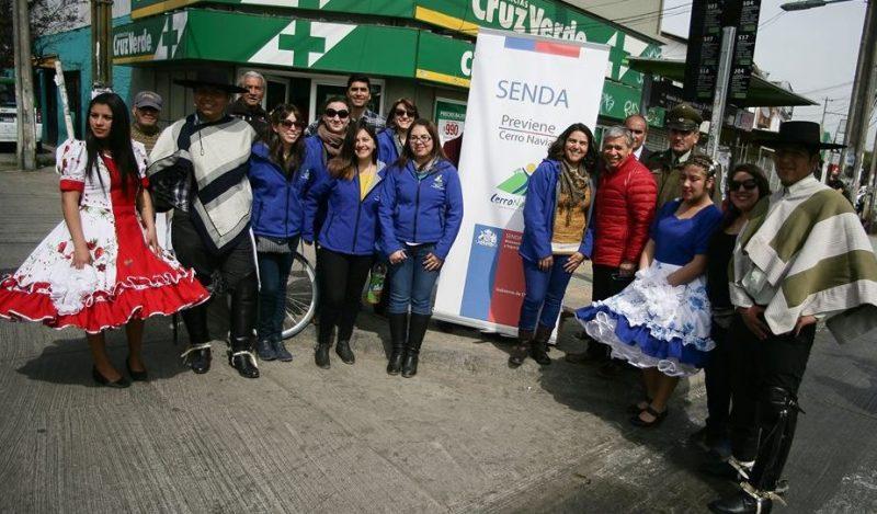 Previene Cerro Navia llama a la prevención previo a fiestas patrias
