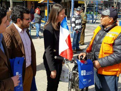 SENDA lanza campaña preventiva de fiestas patrias en Ñuble