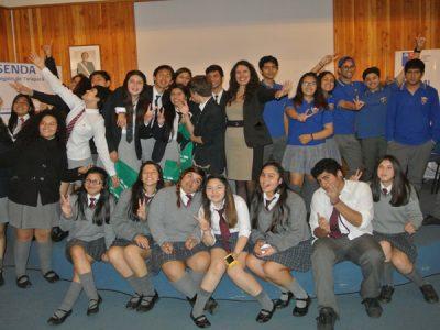 Estudiantes de las regiones de  la zona norte participaron en debate de prevención de alcohol y otras drogas