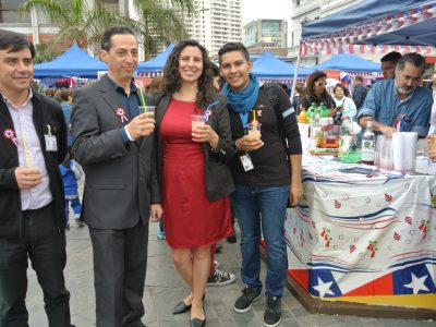 SENDA promociona fonda de tragos sin alcohol para celebrar Fiestas Patrias