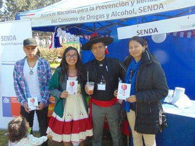 La «Fonda Sin Alcohol» recorre diversos sectores de La Serena