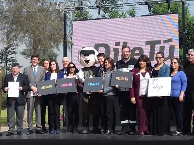 """SENDA participó en lanzamiento de campaña """"Dile tú» de Ministerio de Transportes"""