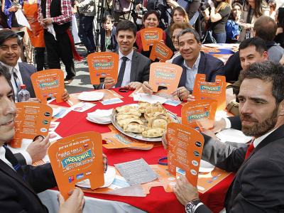 Gobierno inauguró Fonda Preventiva y dio a conocer medidas de autocuidado para las Fiestas Patrias
