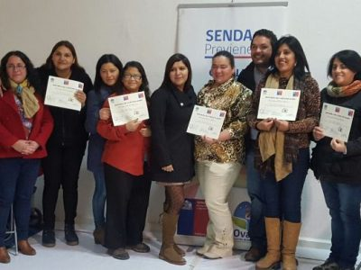Certifican a mujeres jefas de hogar en Ovalle