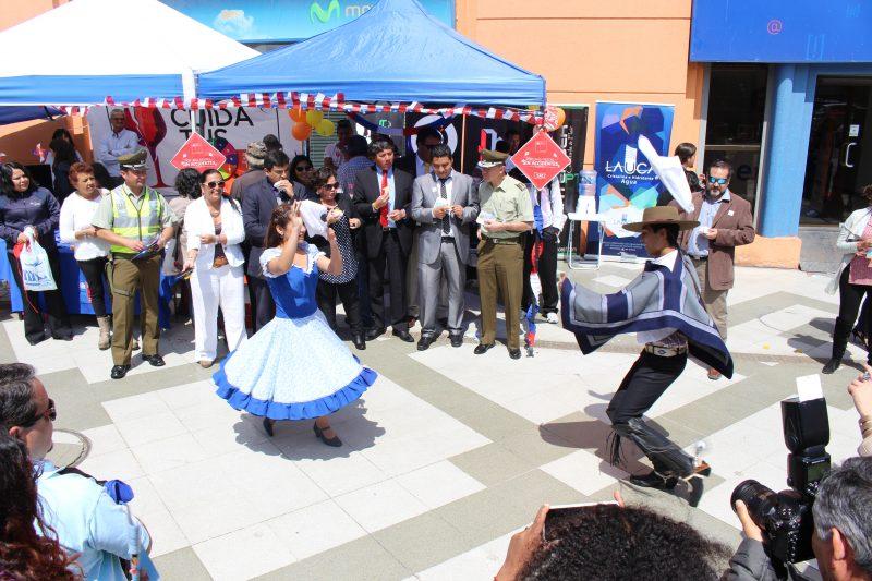 Senda Arica y Parinacota lanzó campaña «Este 18 Cuida Tus Límites» con Fonda Preventiva