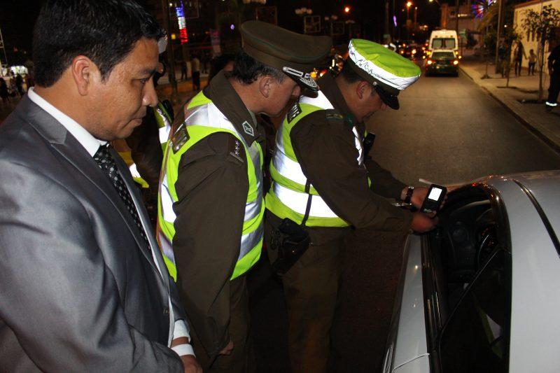 Más de quinientos controles de alcotest a conductores realizó SENDA Arica y Parinacota durante Fiestas Patrias