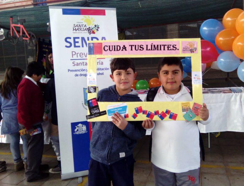 La Prevención también participa en Primera Feria Técnico Profesional de Santa María