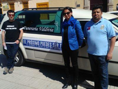 En Andacollo promueven mensaje preventivo en vísperas de Fiestas Patrias