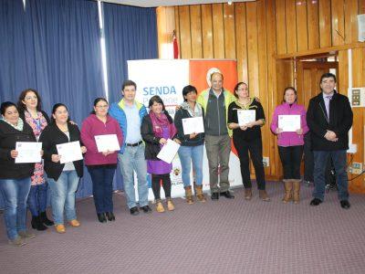 Diez usuarios reciben alta terapéutica en Coyhaique