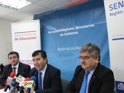 SENDA Los Ríos y Superintendencia de Educación firmaron acuerdo de colaboración en temáticas preventivas en ámbito escolar