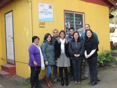 Directora Regional valora dedicación de profesionales del PAI Aliwen de Angol