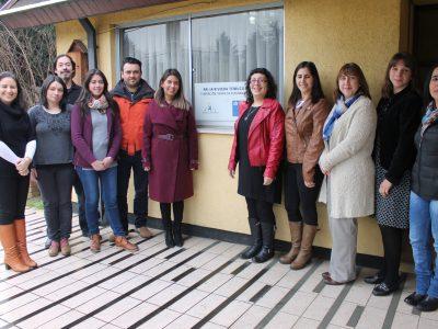 Directora Regional visita centro de tratamiento PAI IA RIviera Temuco