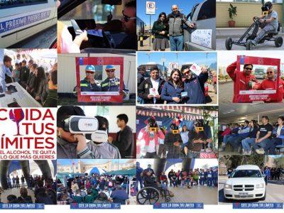 Previene Andacollo sorprendió con novedosa campaña en estas Fiestas Patrias