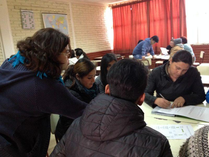 Liceo de Algarrobo se capacita en Prevención