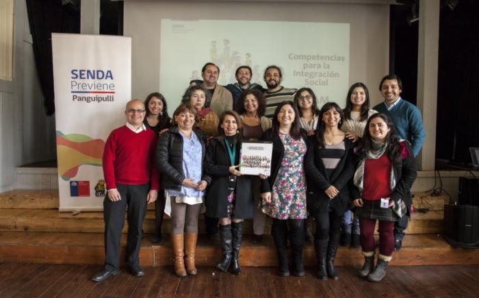 SENDA Previene Panguipulli realizó jornada sobre Estrategias metodológicas de habilitación en competencias para la Integración Social