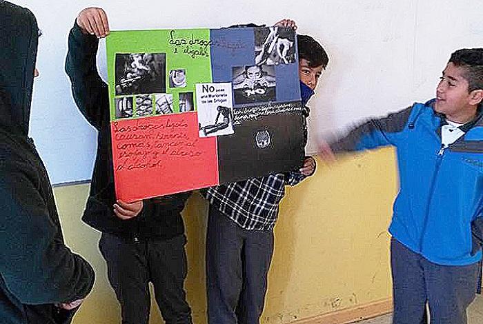 Inician trabajo de concientización sobre el alcohol en Diego de Almagro