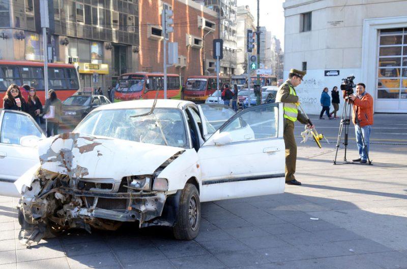 Con simulación de choque automovilístico autoridades refuerzan mensaje de prevención de accidentes por conducción con alcohol