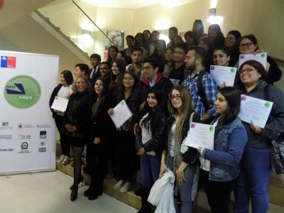 RedPres junto a SENDA Valparaíso certificaron a estudiantes de la región