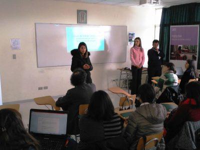 SENDA Araucania y UST Temuco capacitaron a profesionales Previene en prevención comunitaria