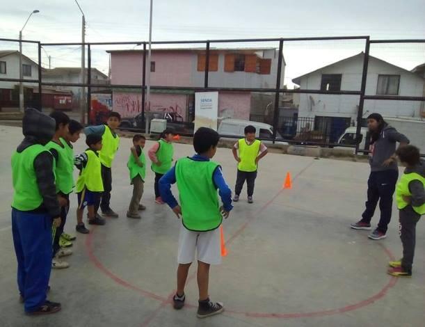 Con actividades deportivas y educativas buscan prevenir el consumo de drogas