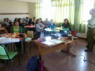 SENDA Previene Talagante dialoga con apoderados de 8° Básico