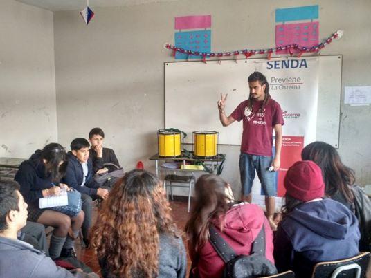 En La Cisterna desarrollan en talleres de expresión artística