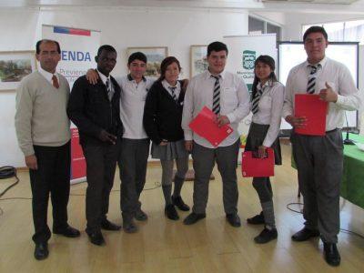 Con éxito se realizan debates estudiantiles organizados por SENDA Previene Quilicura