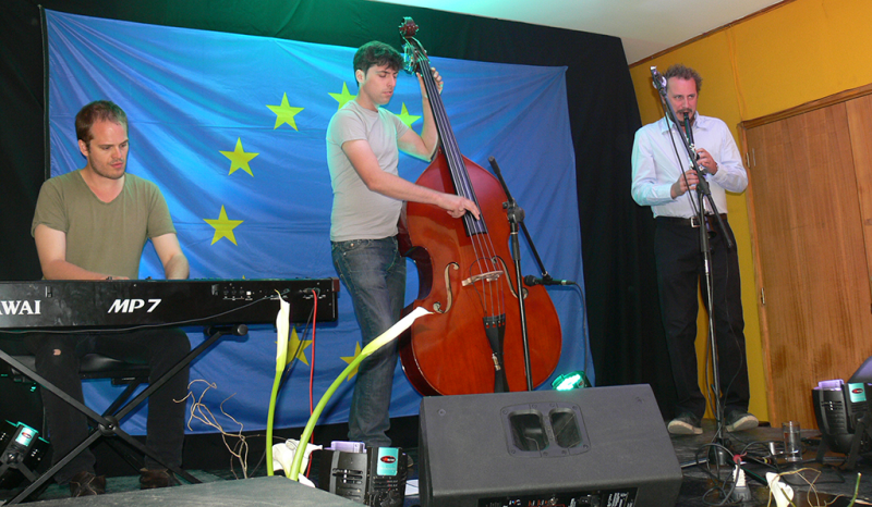 SENDA y la Unión Europea llevaron jazz a centro de tratamiento Talita Kum