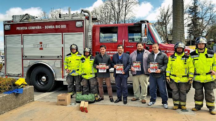Con simulacro de rescate SENDA lanza campaña de prevención de accidentes en la Provincia del Bío – Bío
