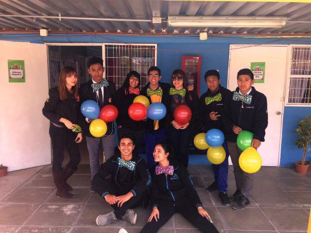Estudiantes del Liceo Minero Bicentenario Juan Pablo II promueven prevención a través de actividades sociales