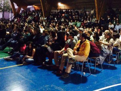 SENDA Y CARABINEROS CAPACITA A COMUNIDAD EDUCATIVA DEL COLEGIO SAN ALBERTO DE MACHALÍ