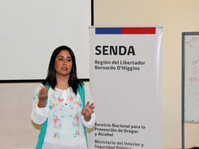Columna de directora de SENDA O'Higgins por 5° aniversario institucional
