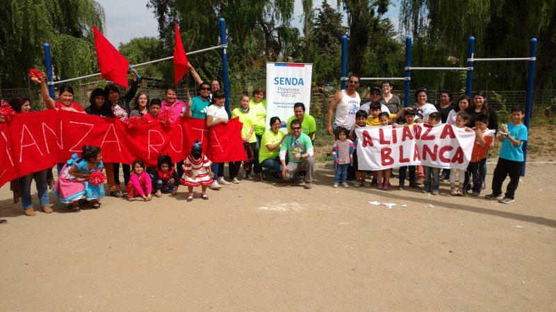 SENDA impulsa trabajo preventivo con vecinos en Villa Machalí Plaza