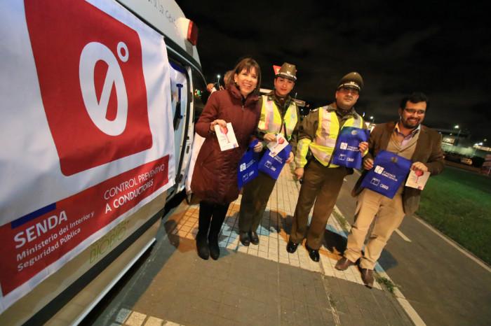 Ambulancia SENDA Intensifican los controles este fin de semana de Fiestas Patrias