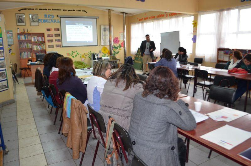 SENDA Previene Collipulli realiza inédita celebración del día del profesor con seminario sobre bienestar docente y clima laboral