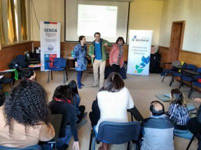 SENDA Previene Pucón realizó jornada de autocuidado para establecimientos educacionales focalizados